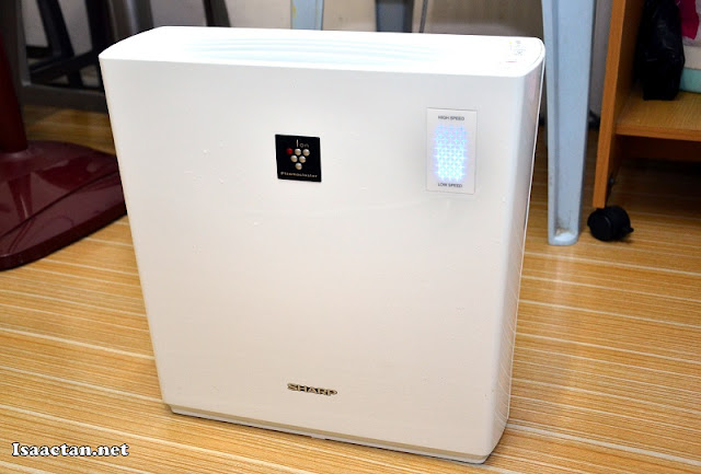 Sharp Plasmacluster Air Purifier - FU-A28E-W