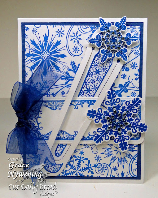 Our Daily Bread designs stamps, Sparkling Snowflakes, Bookmarks Snowflakes, Snowflakes Background, Grace Nywening