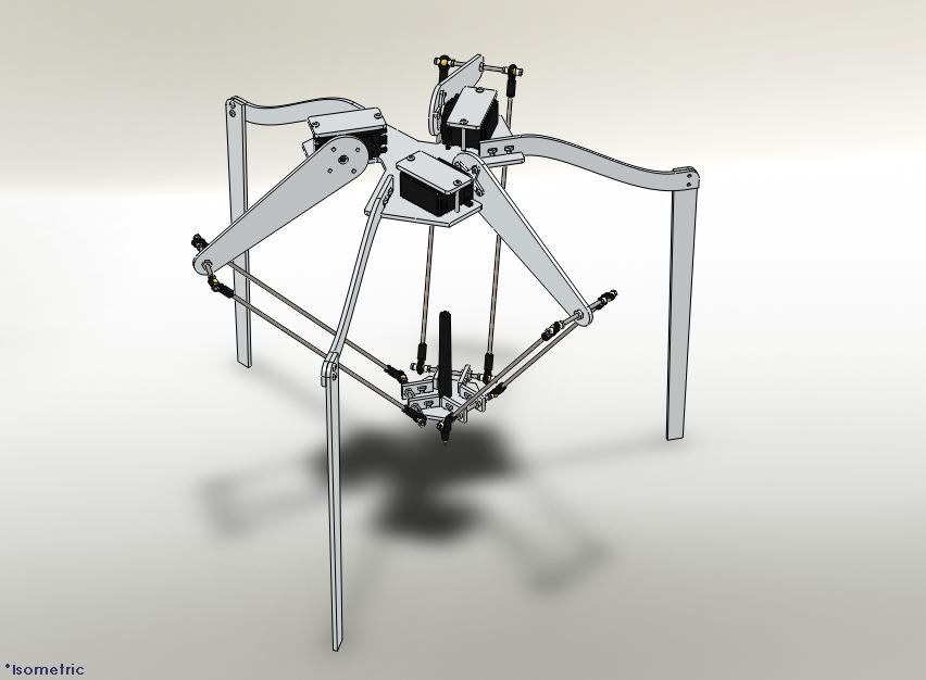 Helium Frog Delta Robot - RepRap - RepRapWiki