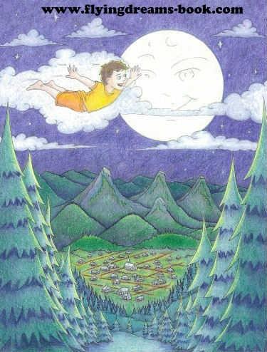 FLYING DREAMS CHILDREN'S GREEN BOOk