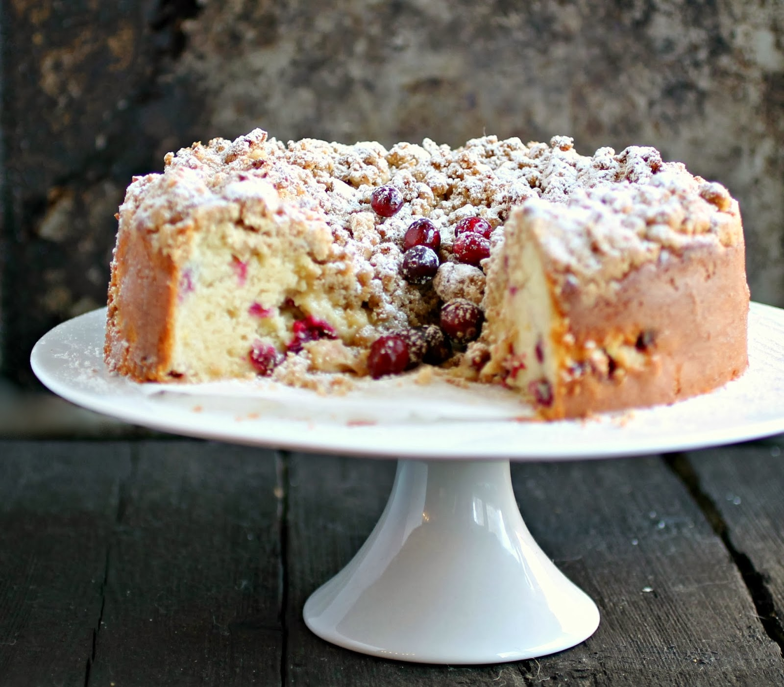 Hungry Couple: Cranberry Crumb Cake