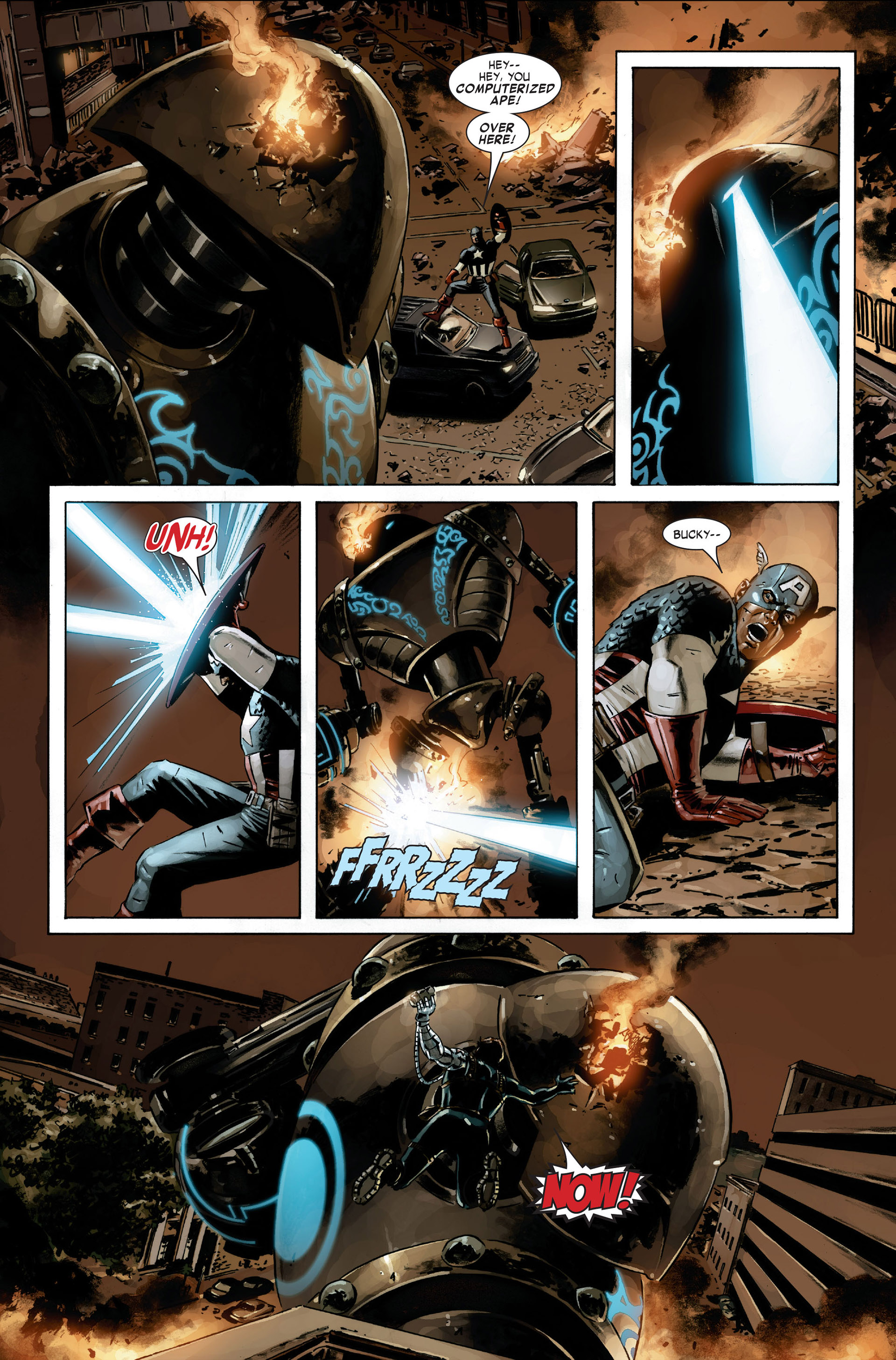 Captain America (2005) Issue #21 #21 - English 15