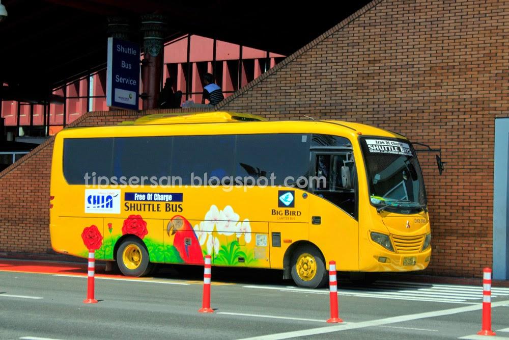 Bus komuter line Bandara Soekarno - Hatta