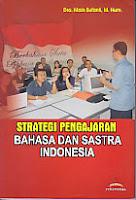 toko buku rahma: buku STRATEGI PENGAJARAN BAHASA DAN SASTRA INDONESIA, pengarang main sufanti, penerbit yuma pustaka