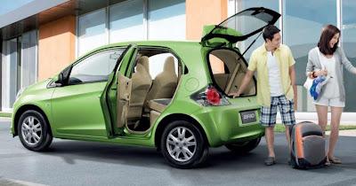 Honda Brio Samping
