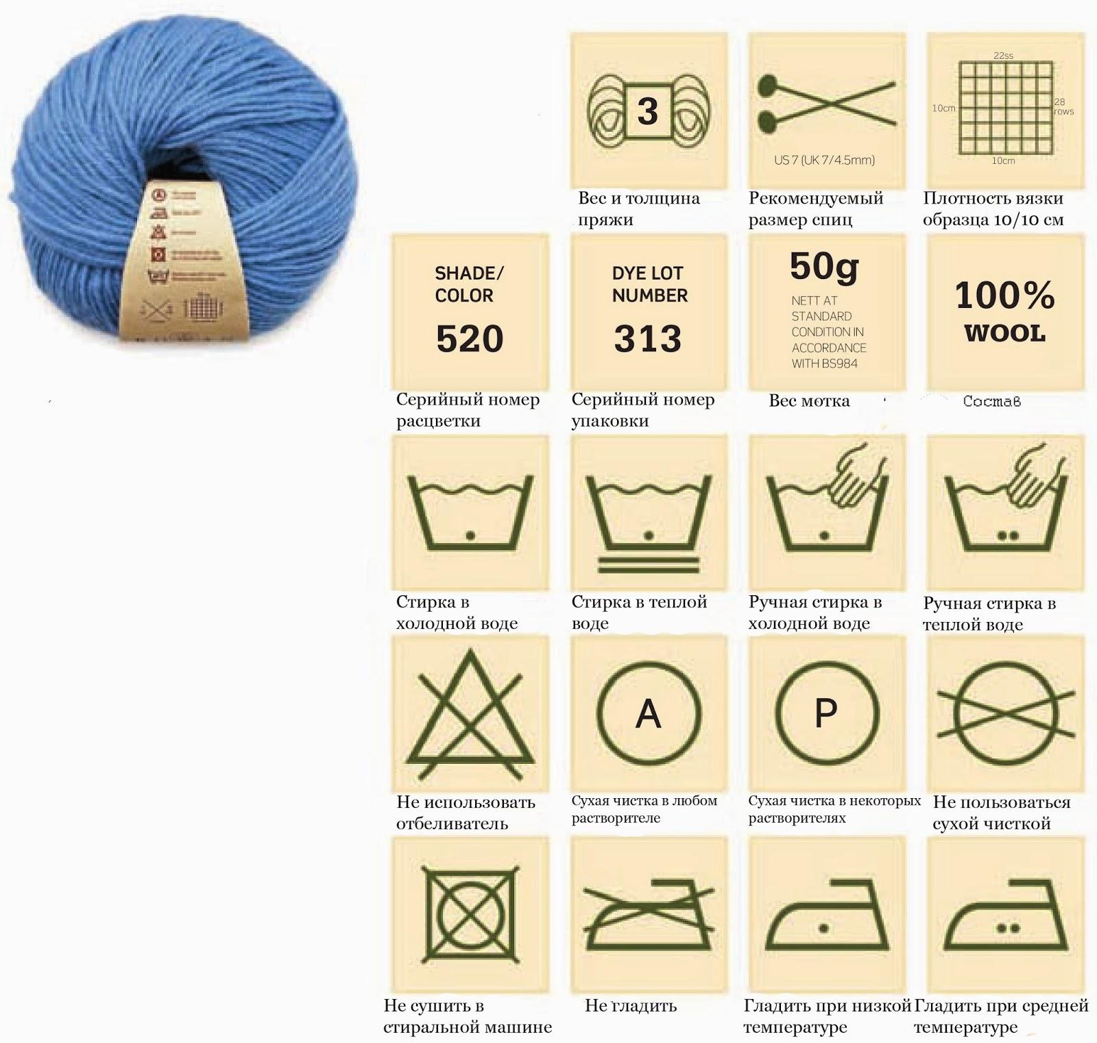Что означает номер спиц для вязания 59