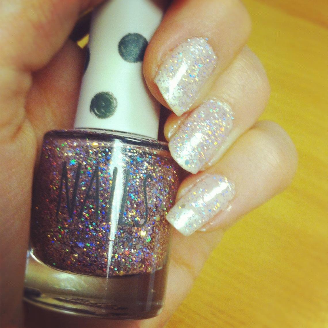 Topshop Adrenalin Glitter Nail Polish