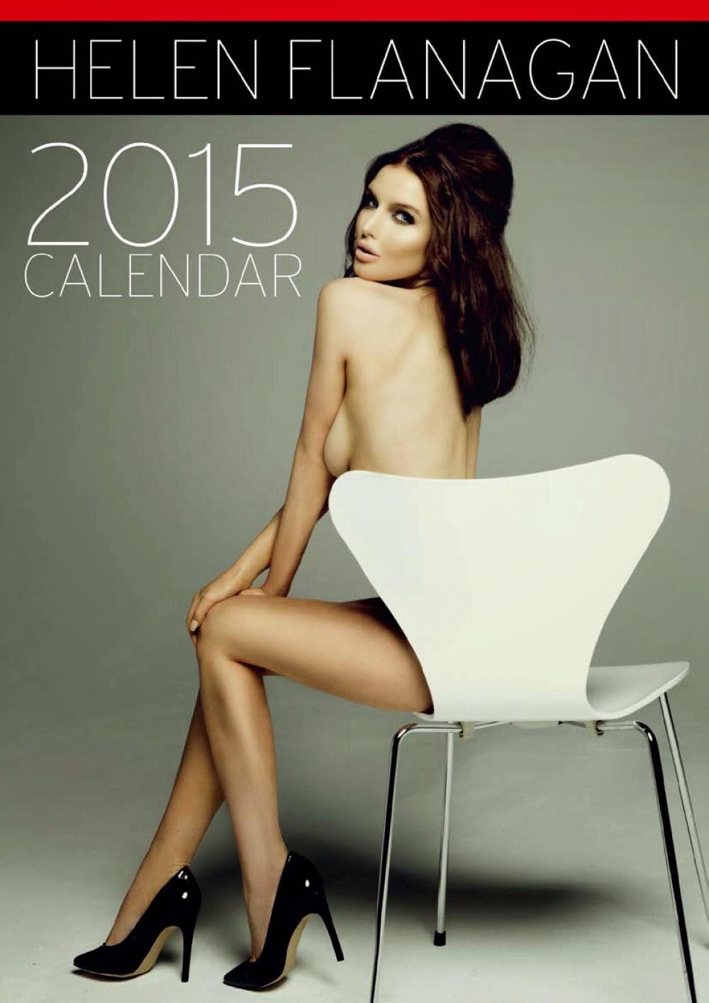 Helen Flanagan Calendar 2014 with regard to dragon: helen flanagan / 2015 calendar