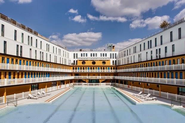 Hotel Molitor, piscinas
