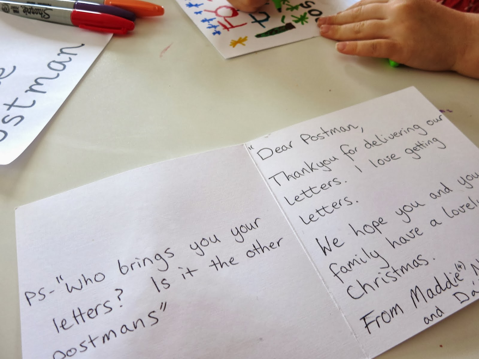 Learn With Play At Home A Letter For The Postman Acts Of Kindness