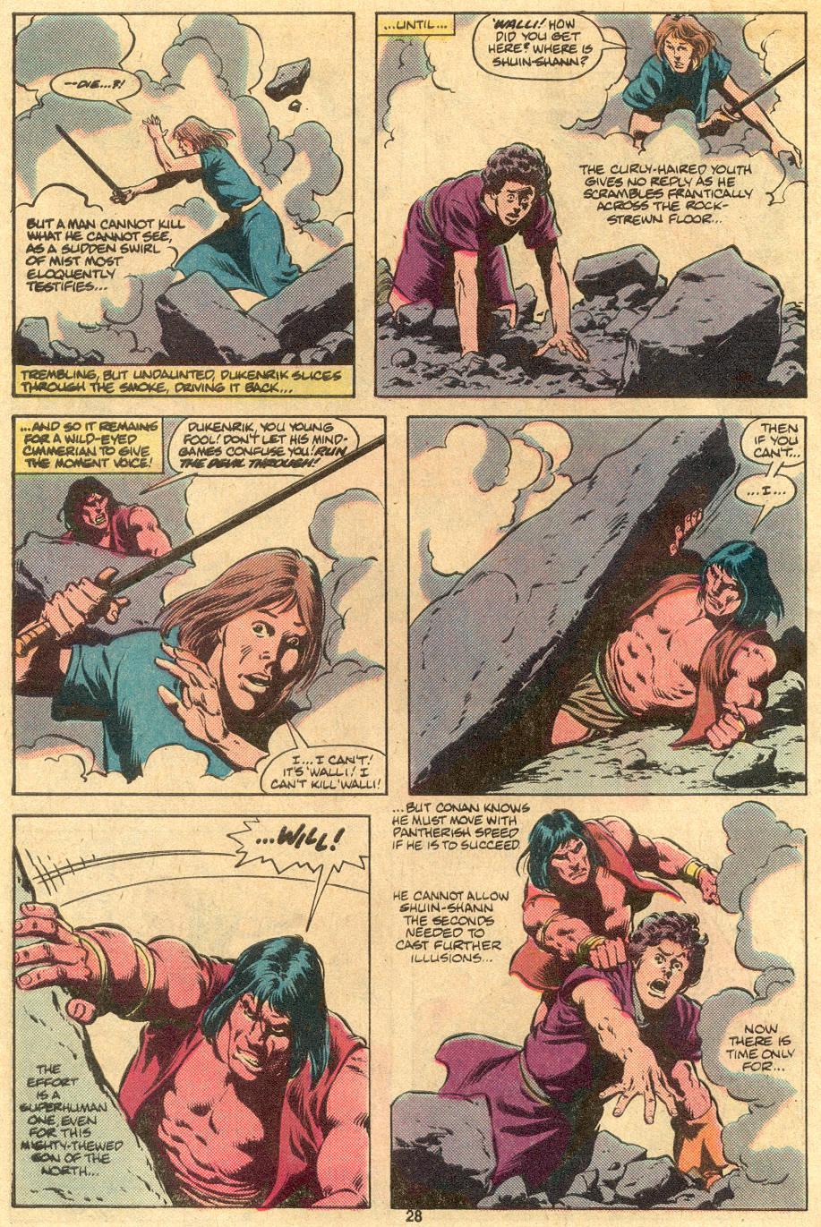 Conan the Barbarian (1970) Issue #122 #134 - English 22