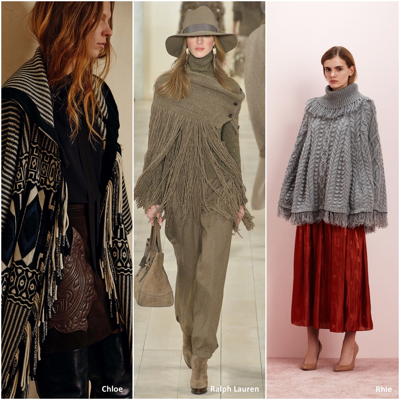 creationsbyeve-eng: Poncho and capes, the perfect fashion trend for ...