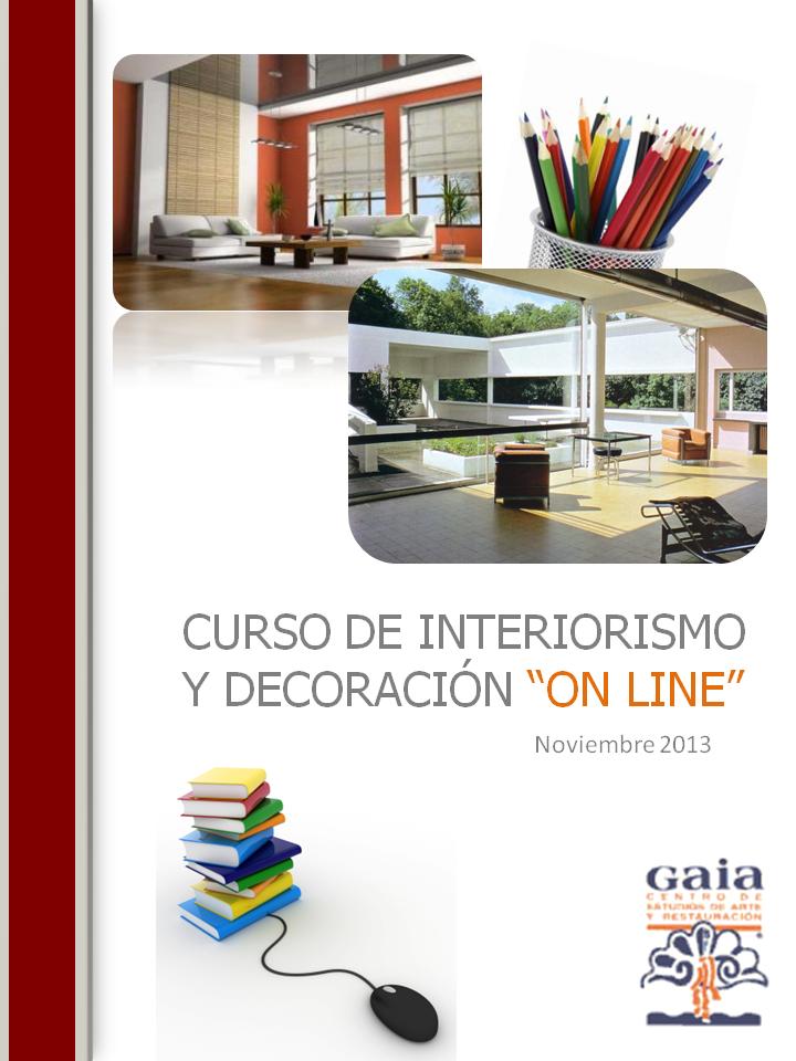 Curso de interiorismo y decoraci n online for Curso de interiorismo