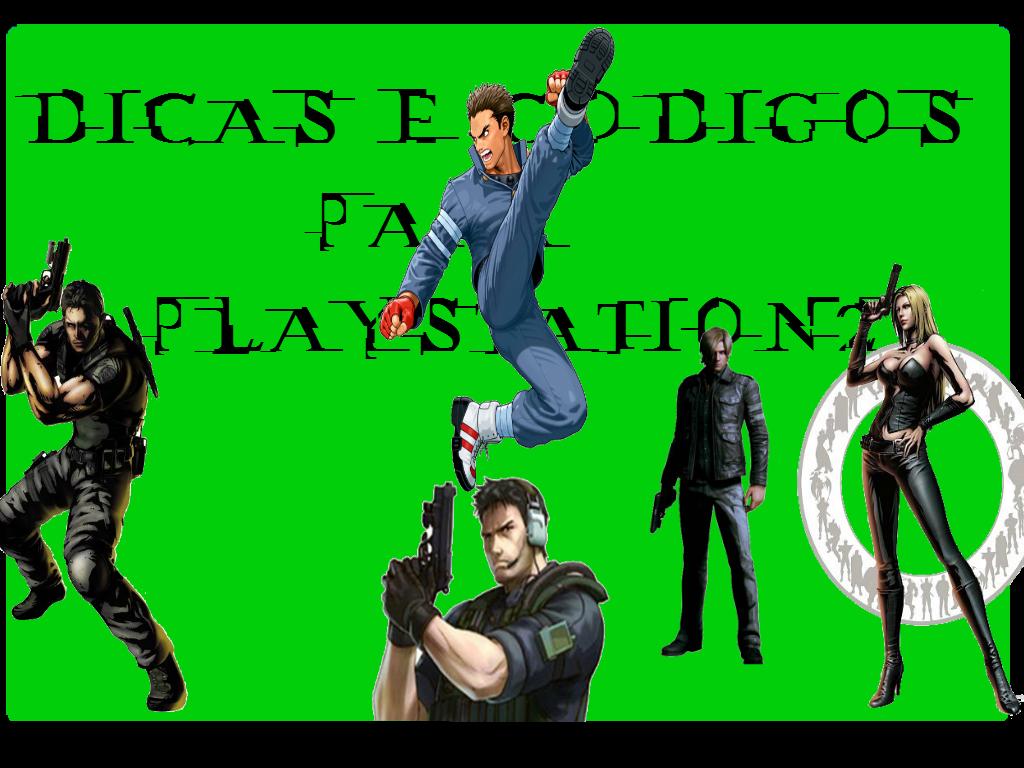 dicas e codigos para playstation 2