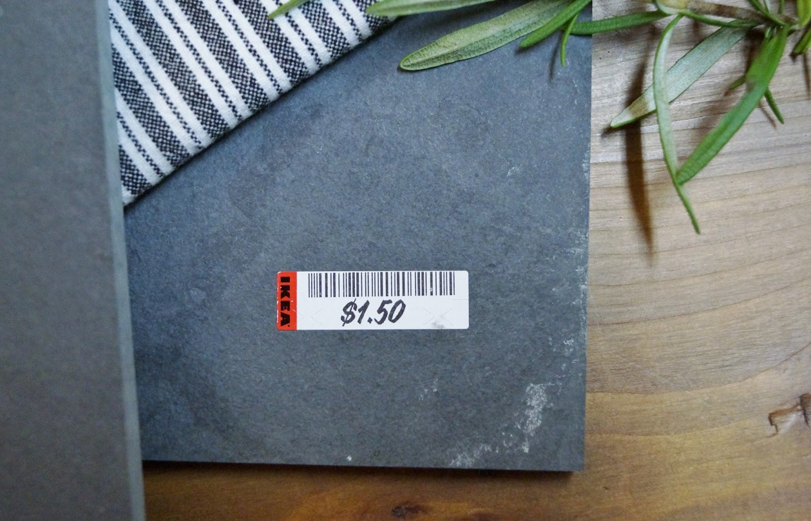 After stopping in Ikea last week I stumbled upon a pallet full of tiles not yet priced in the As-Is section of the store. The employees werenu0027t sure if ... & Donu0027t Disturb This Groove: Slate Cheese Board