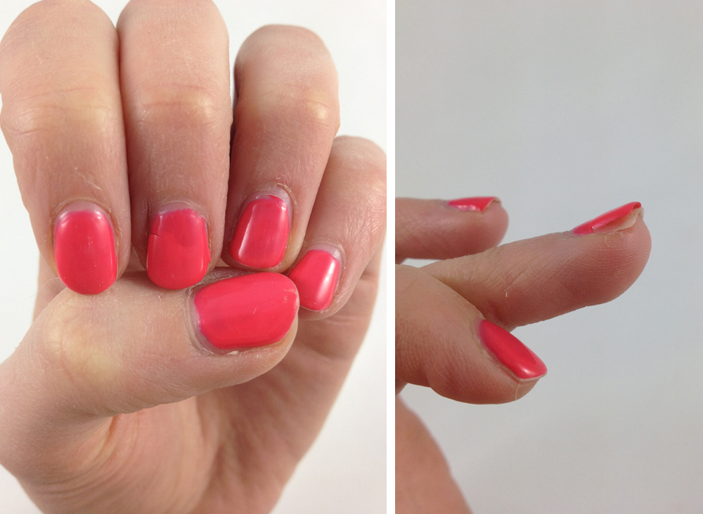 NOTD and Review: Shellac Nails in Tropix | Ramblings of a Beauty Bird