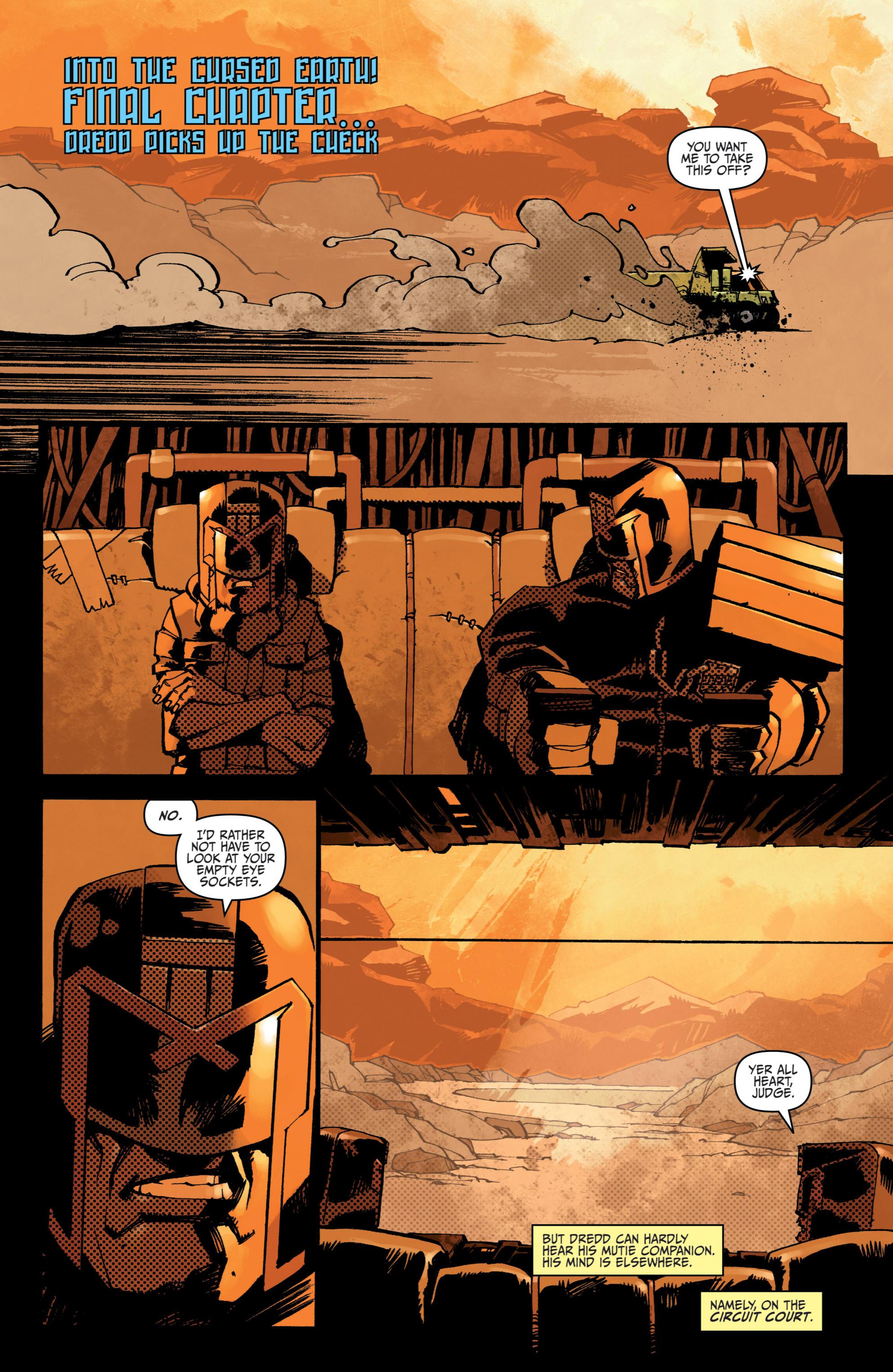 Read online Judge Dredd (2012) comic -  Issue # _TPB 3 - 85