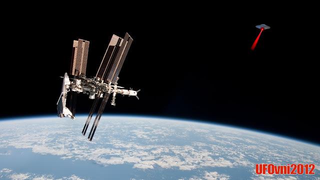 Meilleures observations d'OVNIS dans l'espace