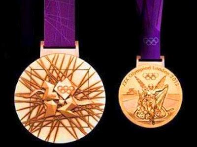 Londres: El valor de las medallas olímpicas 2012