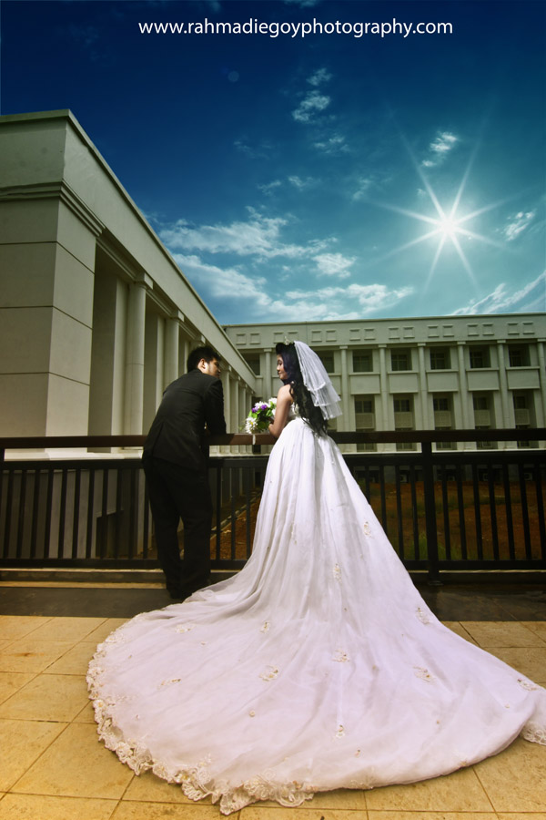 foto prewedding konsep gaun eropa 2