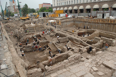 Basilica from the time of Constantine the Great found in Bulgarian capital