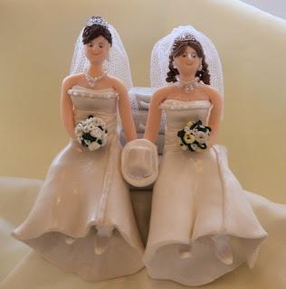 Wedding Party Gifts Lesbian Wedding Cake Topper Lesbian