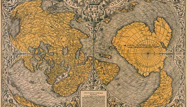 "500 Year Old Map Was Discovered That Shatters The ""Official"" History Of The Planet Piri-696x400"