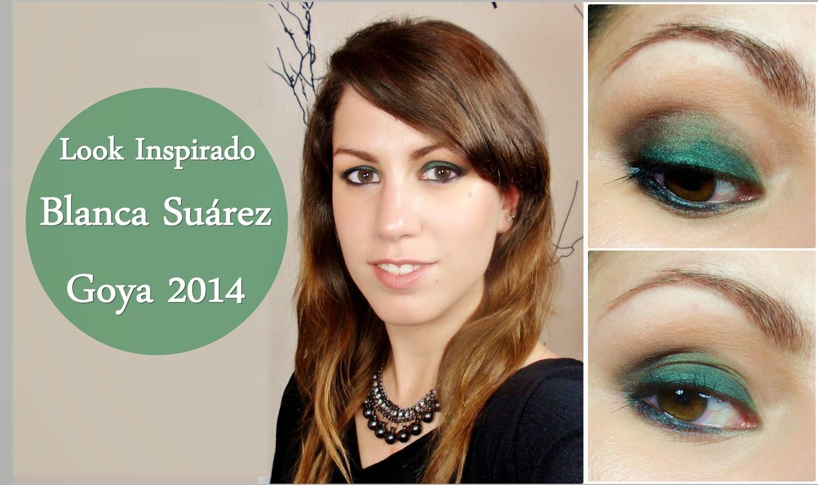 rubibeauty maquillaje inspirado blanca suarez goya 2014