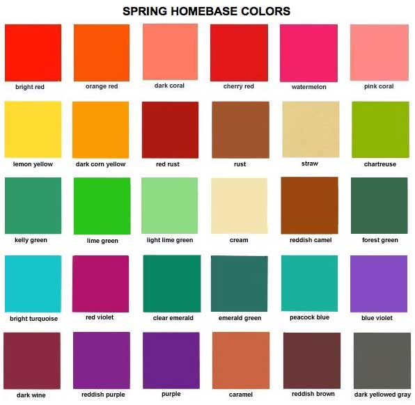 To acquire Colors bright for spring pictures trends