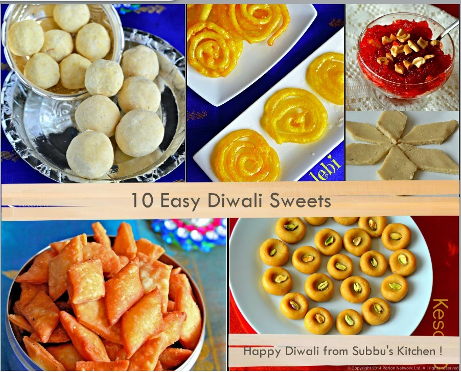 10 Easy Diwali Sweets