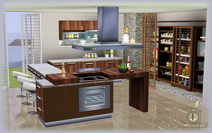 my sims 3 blog form function kitchen pantry and