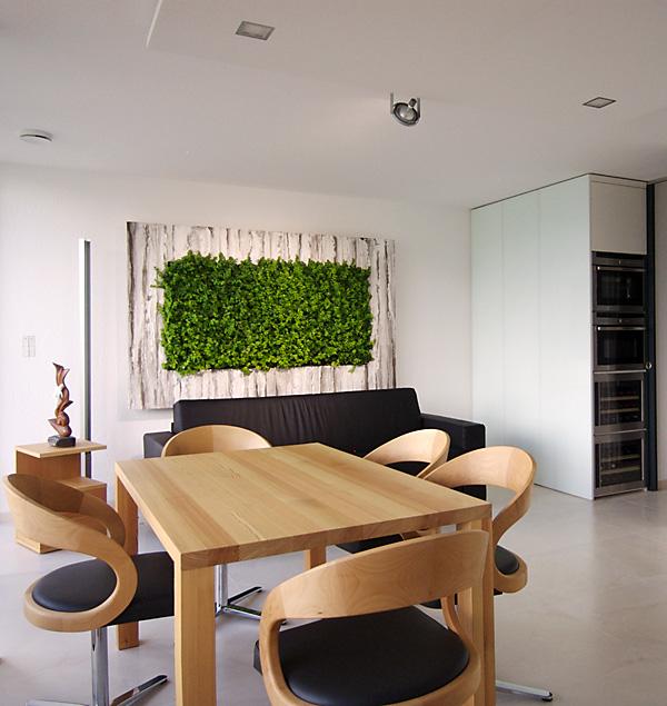 un jardn vertical en el interior de tu hogar