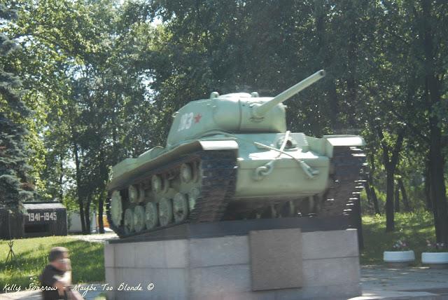 Soviet Tank, St. Petersburg