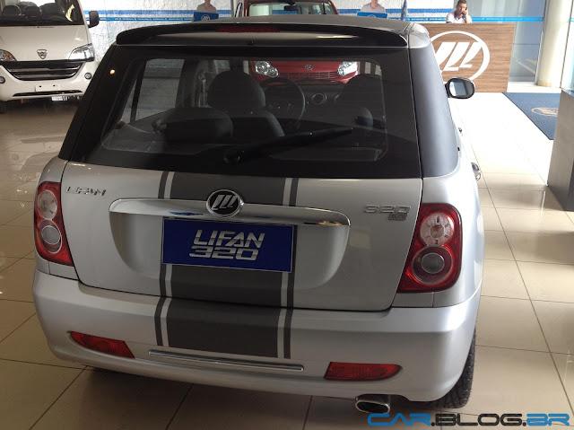 LIfan 320 2013 Mini Cooper chinês é bom?