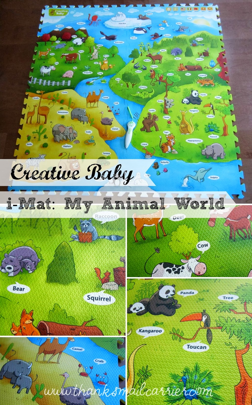 Creative Baby i-Mat Review