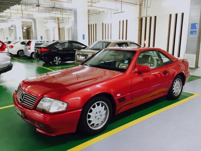 1992 mercedes benz 300sl