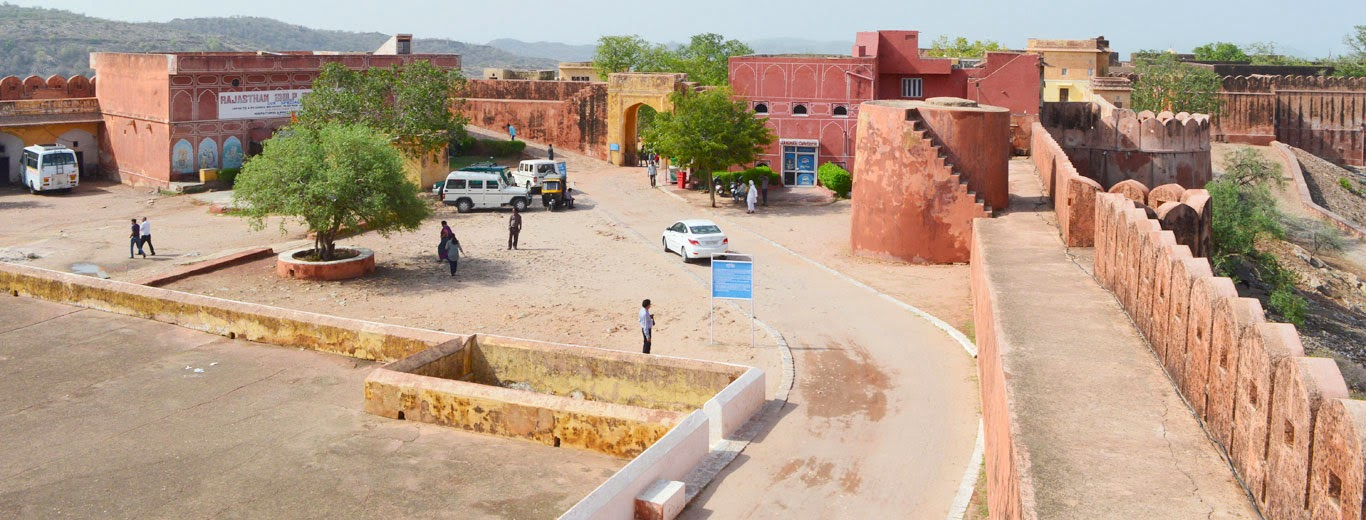 Jaigarh fort Courtyard