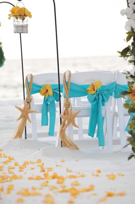 Beach Starfish Wedding Invitations
