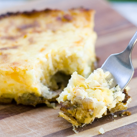 No Face Plate: Beyond Butterdome - Twice Baked Potato Pie