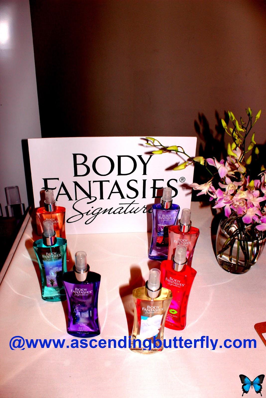 Body Fantasies Signature at Getting Gorgeous 2014, Fragrance Rebel, parfums de coeur