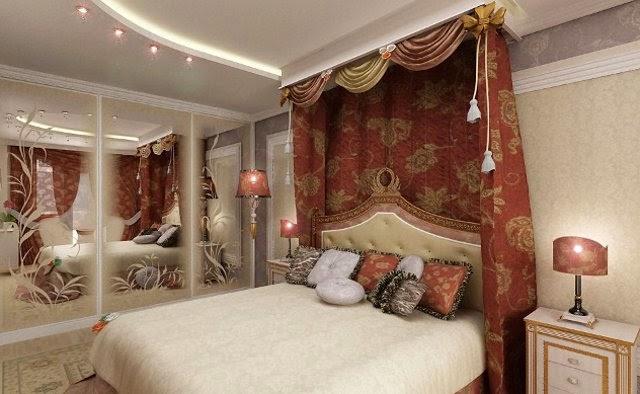 Fabulous oriental style bedroom design