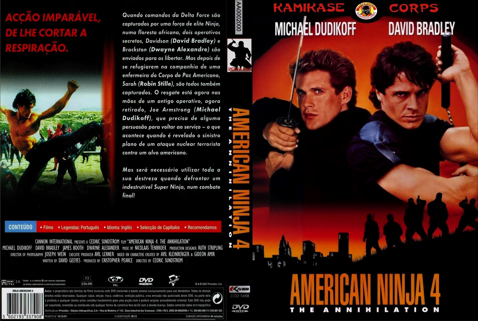 american ninja 4 movie