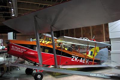 NZ Civil Aircraft: De Havilland DH 94 Moth Minor at North