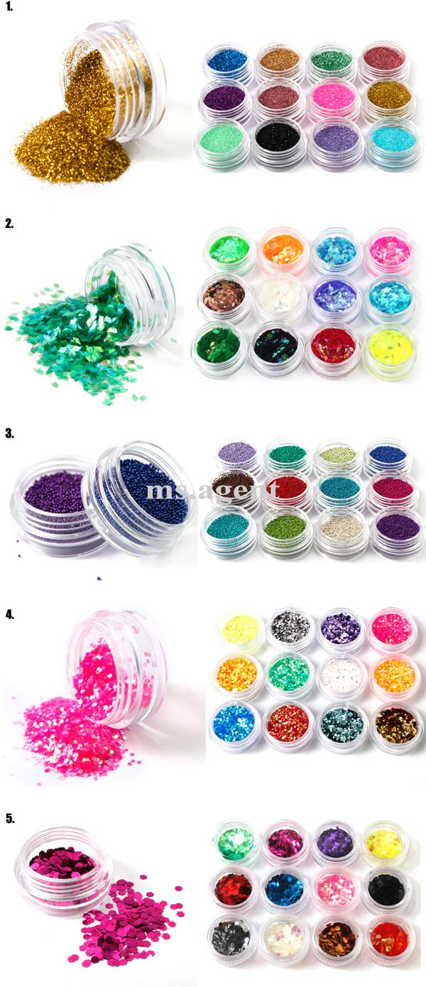 Glitter, caviar, strass... que mais podemos colocar nas unhas?