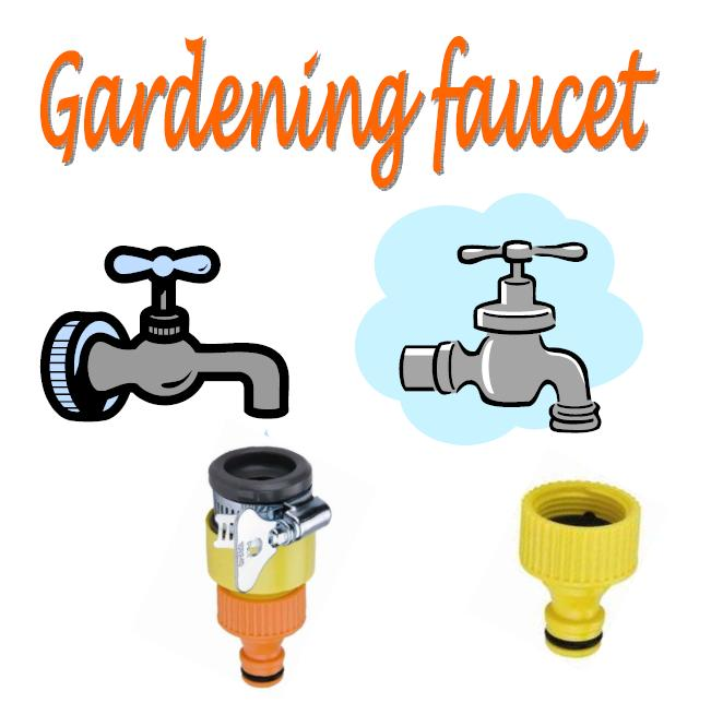 Garden Irrigation Products Manufacturer: Gardening faucet connector