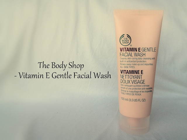 The Body Shop - Vitamin E Gentle Facial Wash - Review