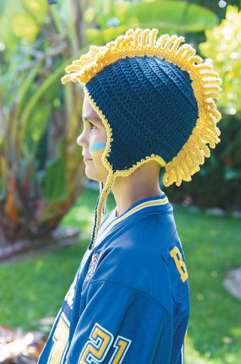 Mohawk Hat Crochet Pattern Gallery Knitting Patterns Free Download