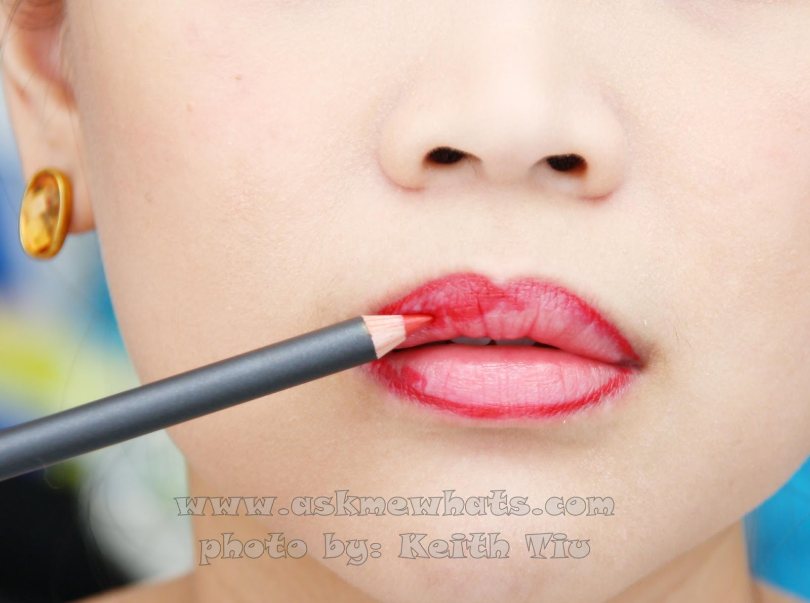 Askmewhats top beauty blogger philippines skincare makeup in this tutorial i prefer to fill in my lips with mac lip liner in cherry if you plan to use a lip liner frequently invest on a good lip liner lip baditri Image collections