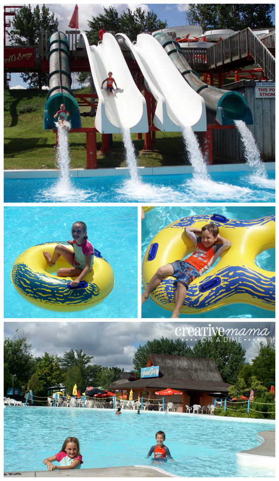 Water slides, wave pools, and lazy rivers at Wild Water Kingdom