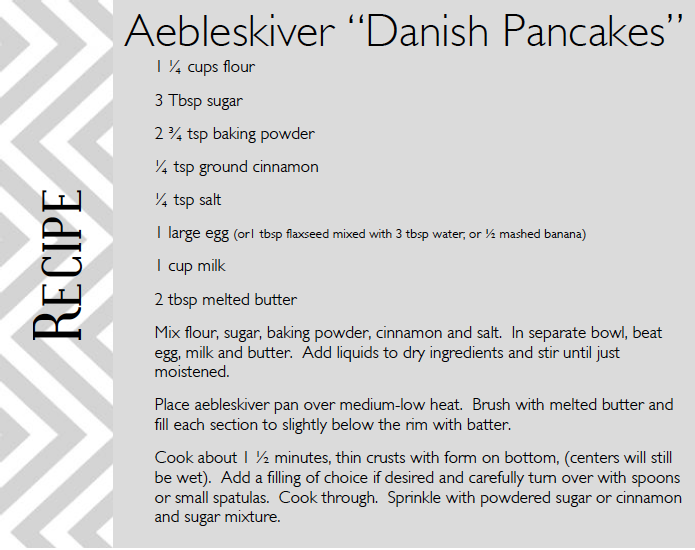 How To Pronounce Aebleskiver
